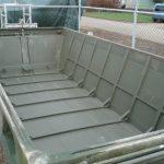 Ex millitary aluminium pontoonboat