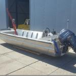 600ZL Aluminium Workboat V-bottom